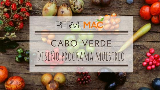 Muestreo en Cabo Verde proyecto PERVEMAC2