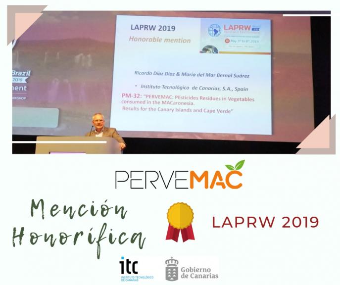 MENCIÓN HONORÍFICA AL PROYECTO PERVEMAC2 EN LAPRW 2019
