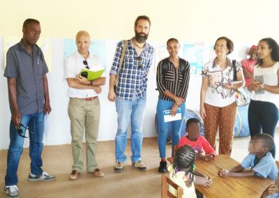 Visita a Colegios en Cabo Verde