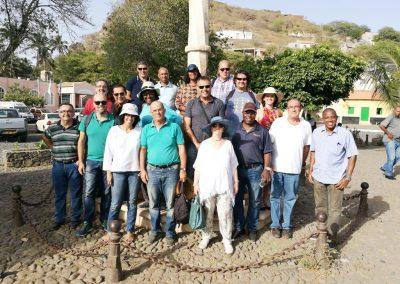 Visita de campo en Cabo Verde