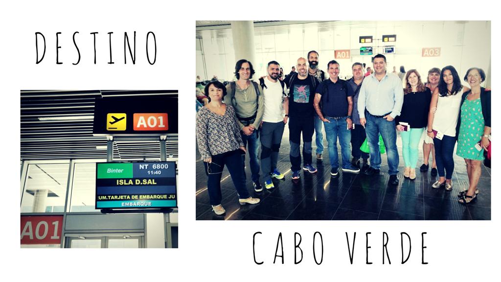 Vuelo a Cabo Verde
