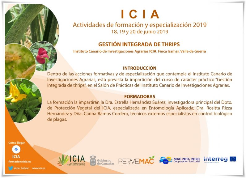ICIA Gestión Integrada Thrips