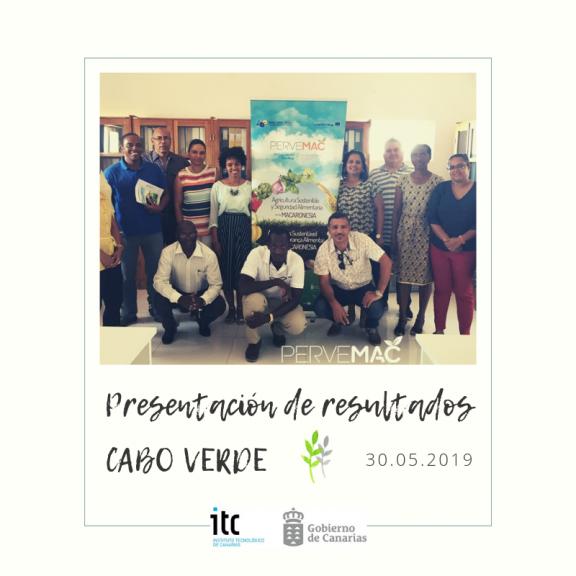 Pervemac Cabo Verde Mayo 2019 ITC