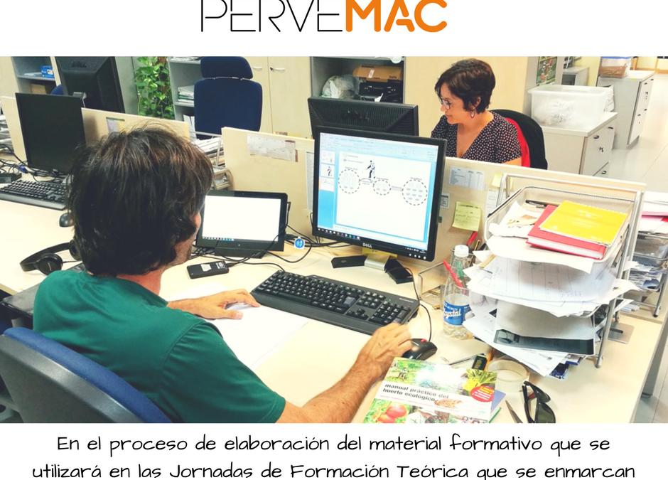 Elaboración de material formativo proyecto pervemac2