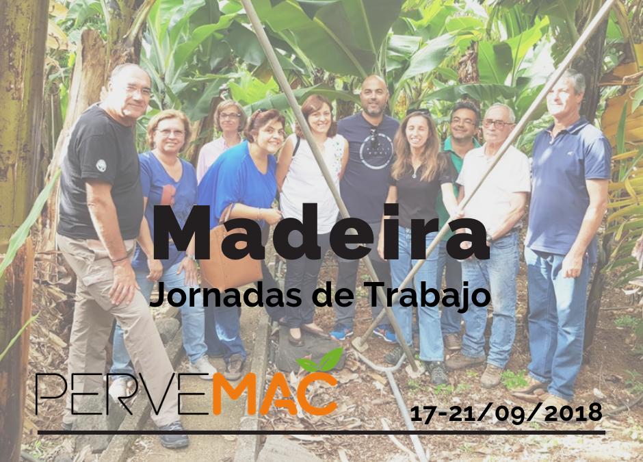 JORNADAS DE TRABAJO EN MADEIRA MADEIRA. 17-21/09/2018