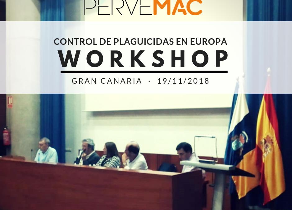 CONTROL DE RESIDUOS DE PLAGUICIDAS EN EUROPA LAS PALMAS. 19/11/2018